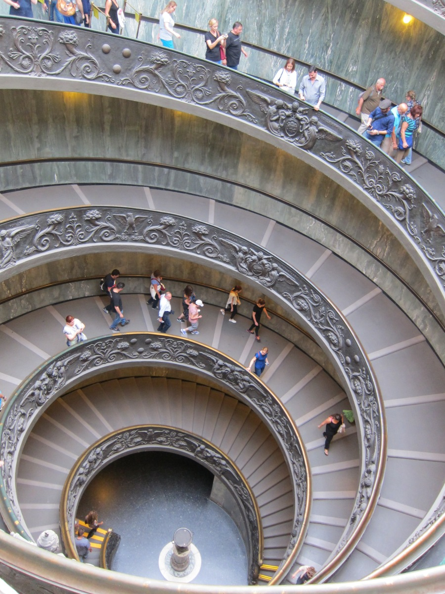Day 2 in Rome - Vatican Museum, Spanish Steps, Trevi Fountain